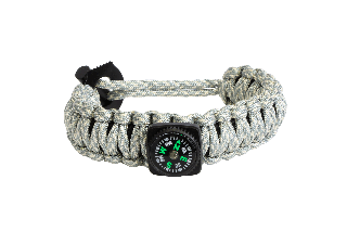 PULSERA PARACORD CON KIT DE SUPERVIVENCIA