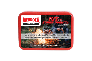 KIT DE SUPERVIVENCIA ROJO