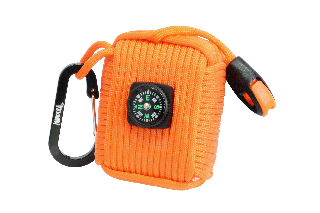 KIT DE SUPERVIVENCIA NARANJA PARACORD