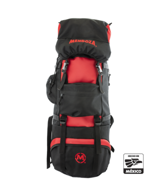 BACKPACK CAMPING NEGRA