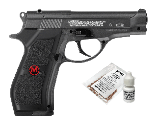 PISTOLA CO2 PFM16 COMP FULL METAL 4.5